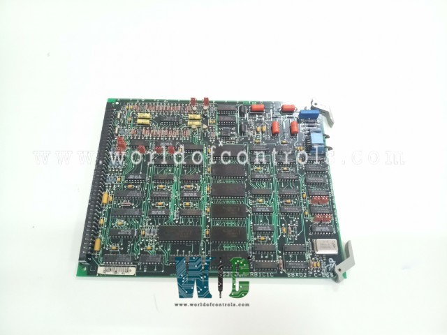DS3800HPRB	-	PULSE RATE INPUT CARD