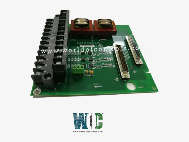 IS200SPROH1ADD - PPRO TERMINAL BOARD